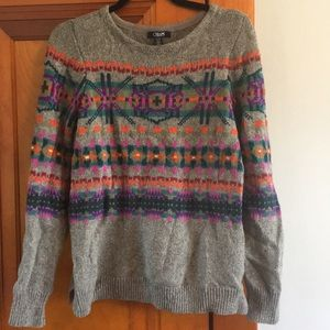 Fitted sweater